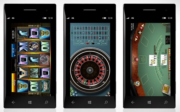windows casino games
