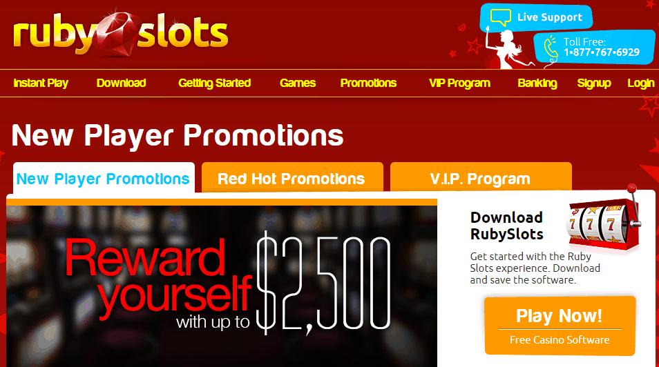 ruby slot casino no deposit bonus codes 2019