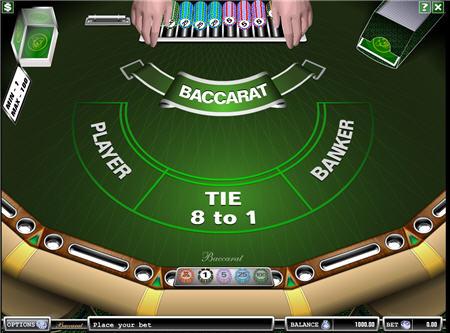 online baccarat casino usa
