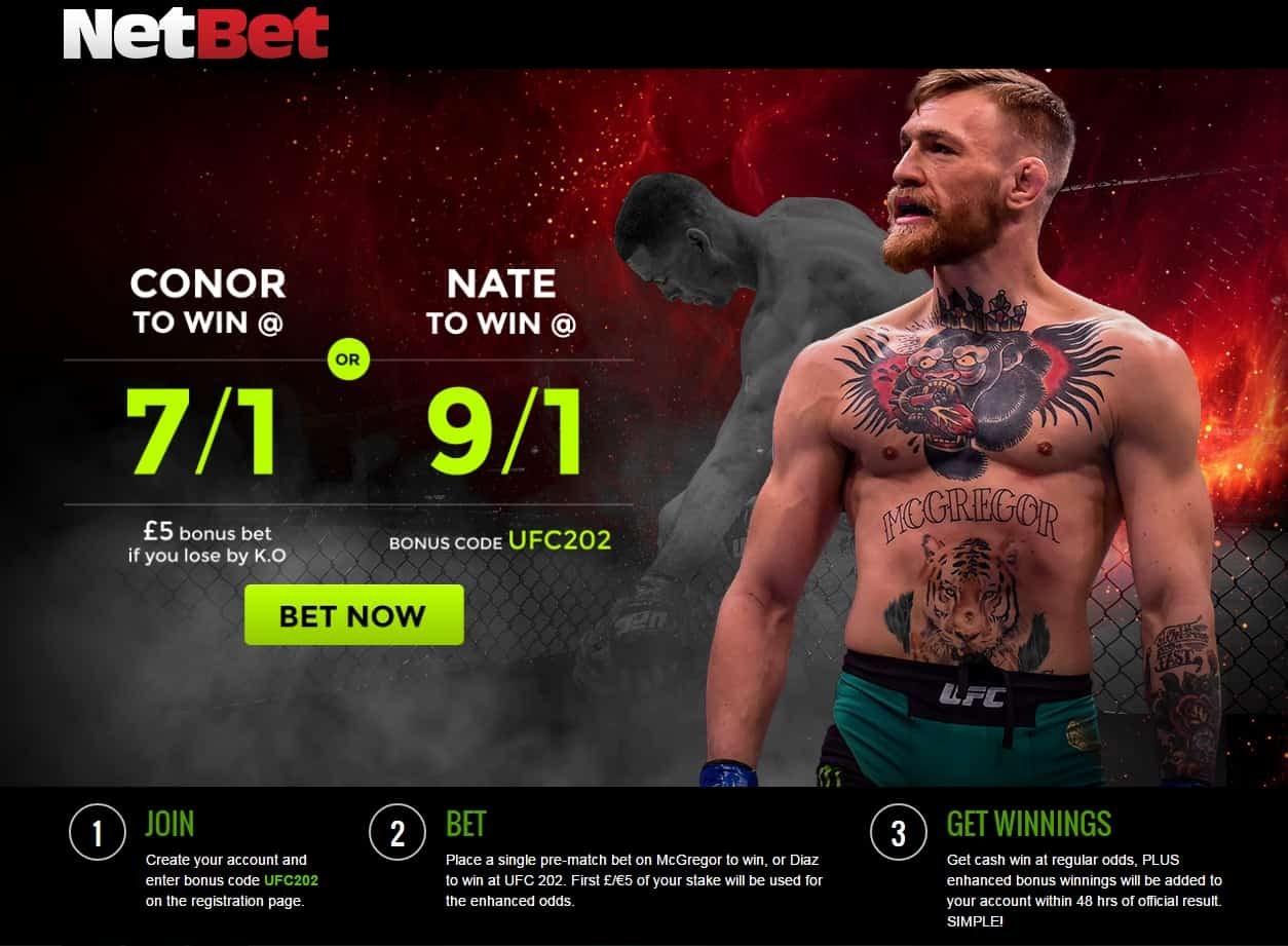 Photo of Conor McGregor 7/1 or Nate Diaz 9/1!
