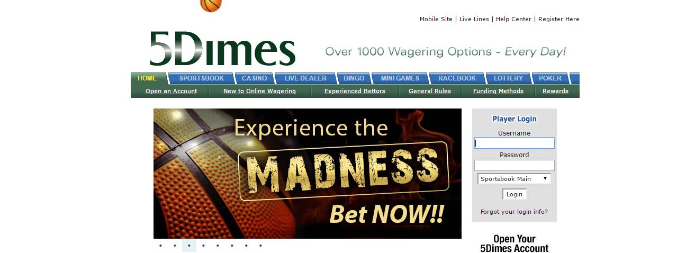 5dimes sign up bonus now deposits definition