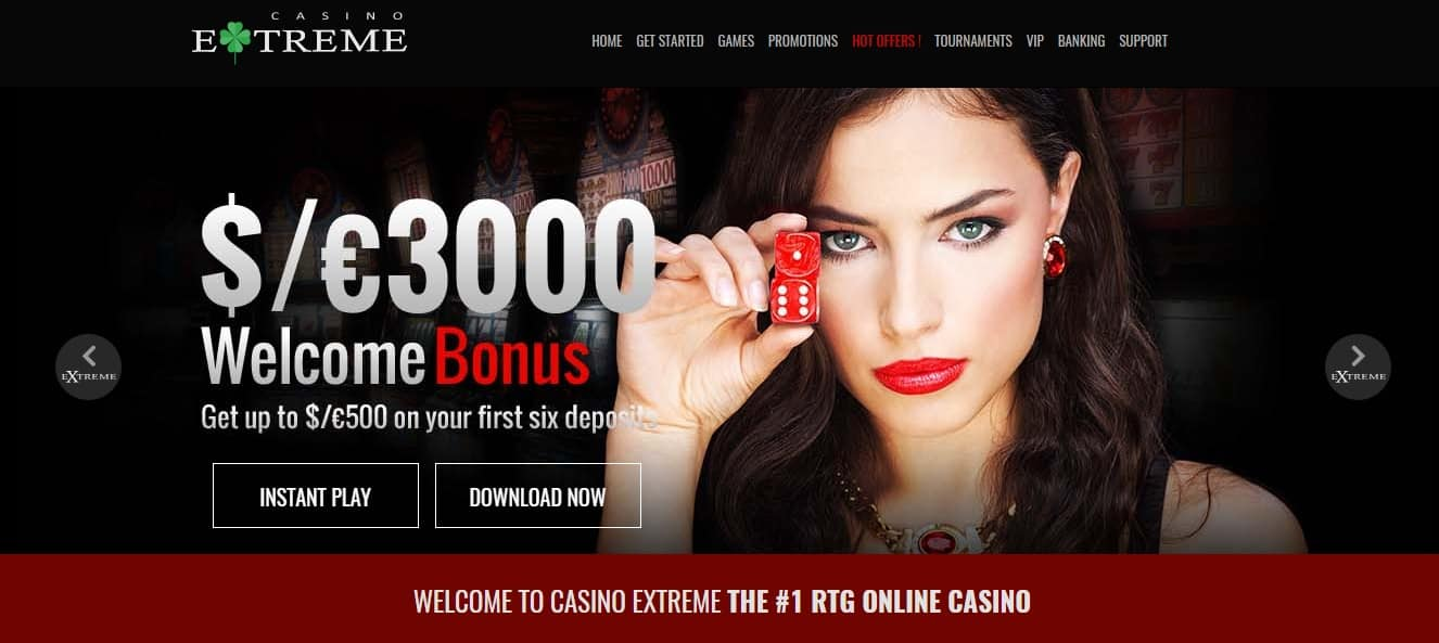 Enter the Extreme in Real Time and with Real Fun Thanks to the CasinoExtremeFlash.Com