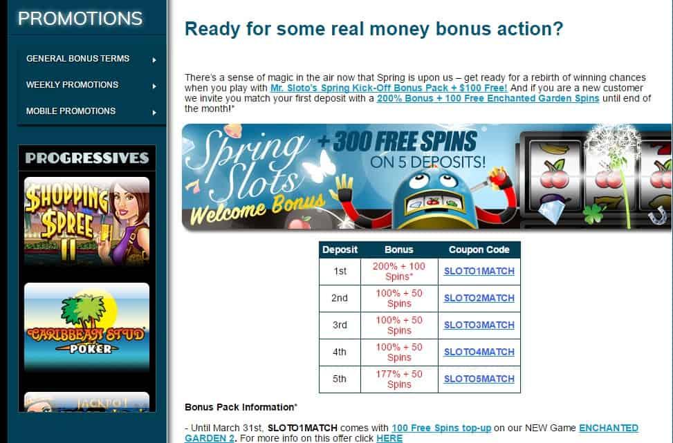 sloto cash casino sign up