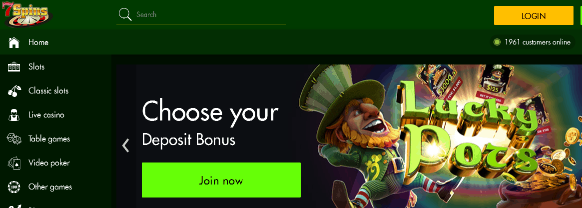 7spins casino no deposit bonus 2019