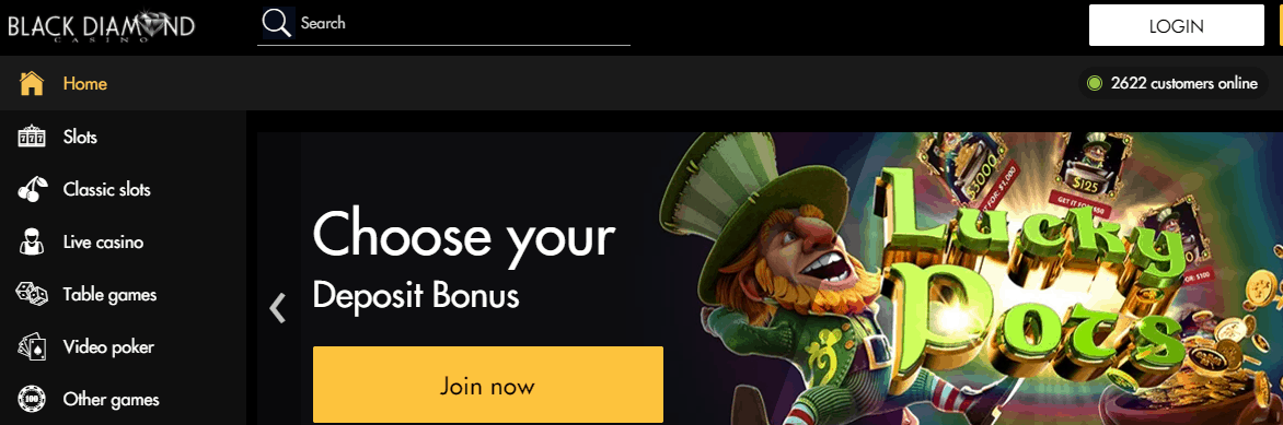 black diamond casino no deposit bonus codes 2019