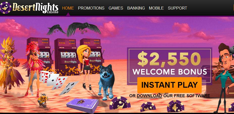 desert nights casino no deposit bonus codes