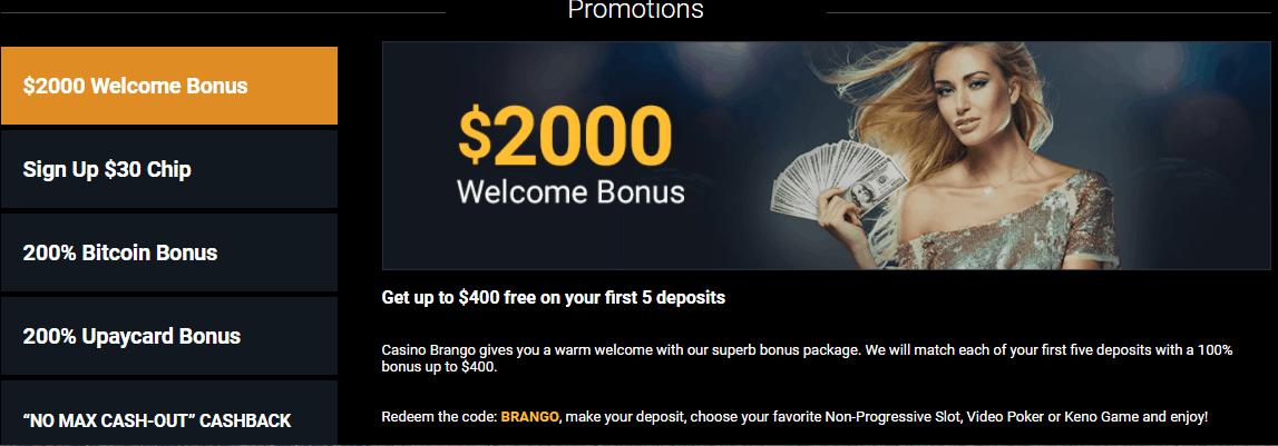 casino brango no deposit bonus codes