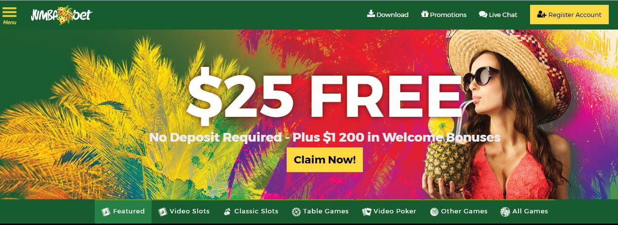 jumba bet casino no deposit bonus codes july 2019