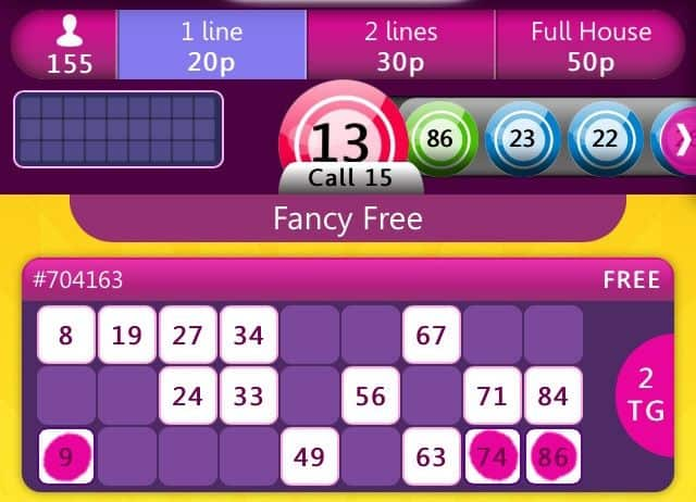 Mobile Bingo Games