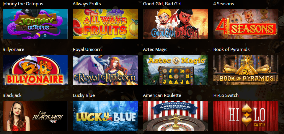 Anonymous Casino Games