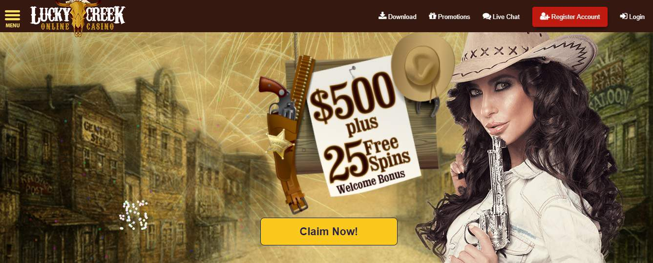 Lucky Creek No Deposit Codes