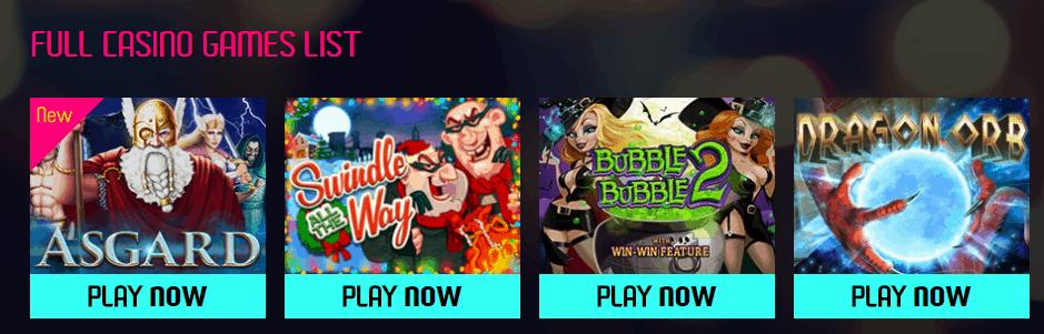 Wild Vegas Casino Games
