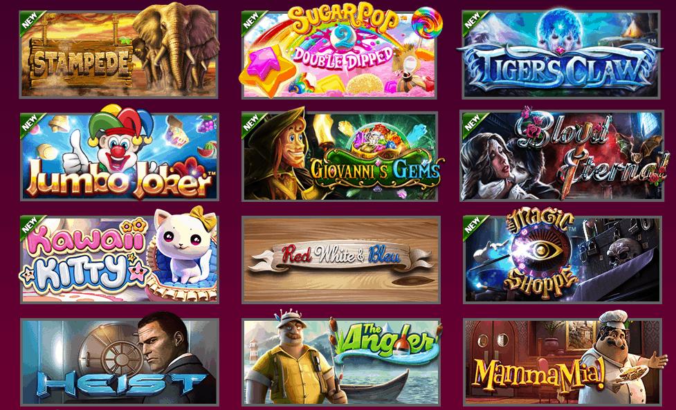 Hallmark Casino Games