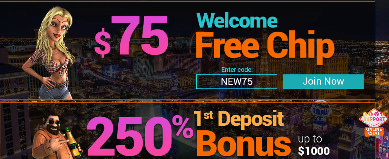 Vegas Rush Casino Welcome Bonus