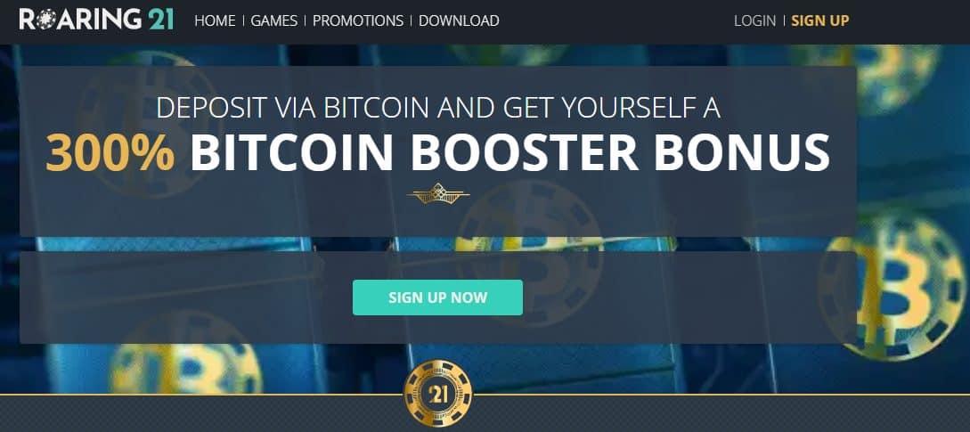 21Roaring Homepage