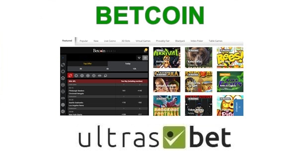 BetCoin Welcome page