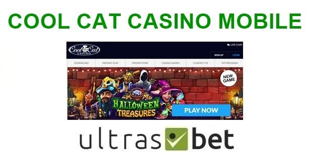 Cool Cat Casino Mobile