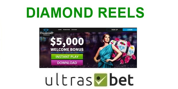 Diamond Reels Welcome page