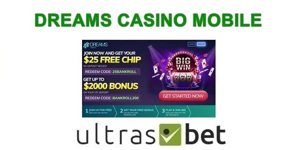 Dreams Casino App