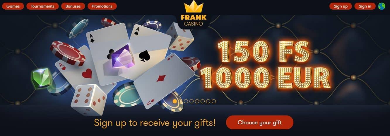frank casino mobile