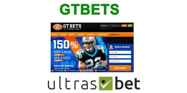 GTBets Welcome page