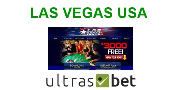 Las Vegas USA Welcome page