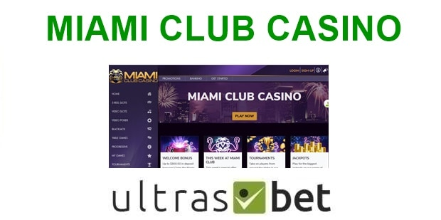 Miami Club Welcome page