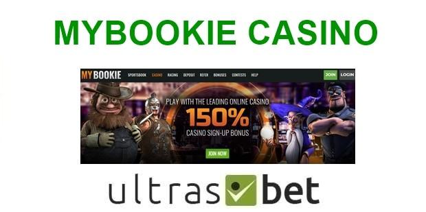 MyBookie Casino Welcome page