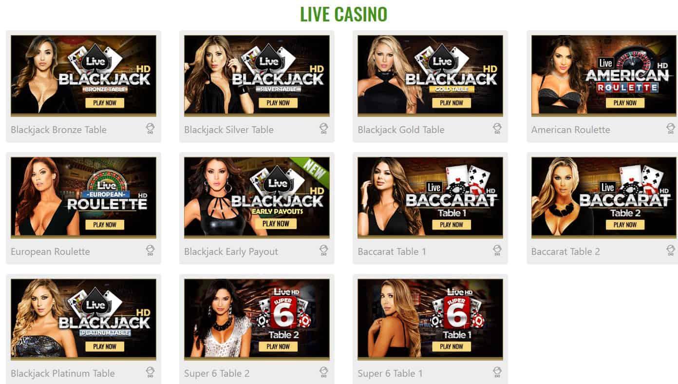 MyBookie Live Casino