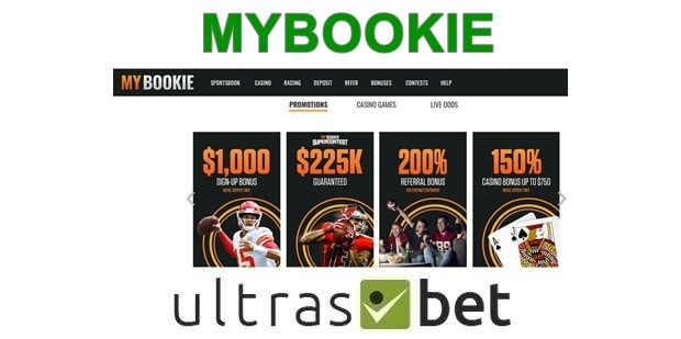 MyBookie Welcome page