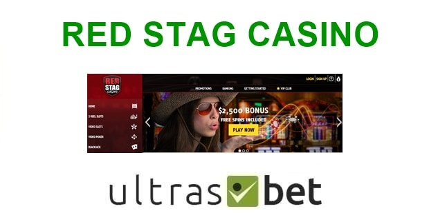 Red Stag Casino Welcome page