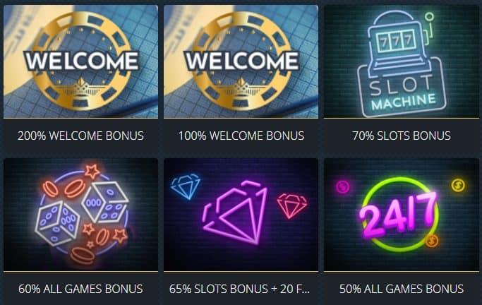 Roaring21 Bonuses