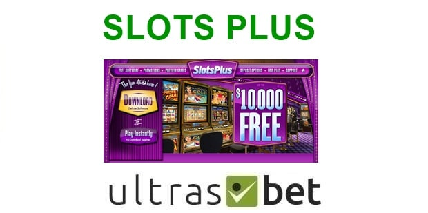 Slots Plus Welcome page