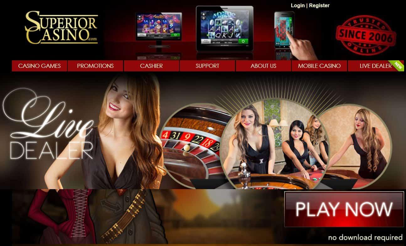 Superior Live Casino