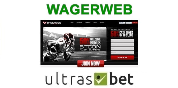 WagerWeb Welcome page