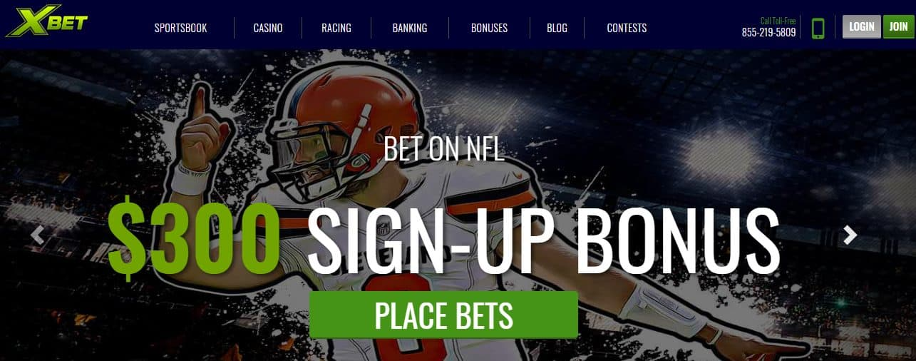 XBet Homepage