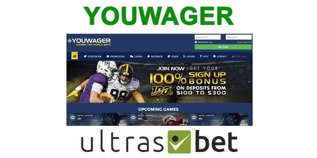 Youwager Welcome page